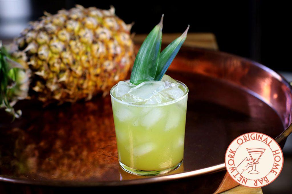 Pineapple Cilantro Margarita - Home Bar Network