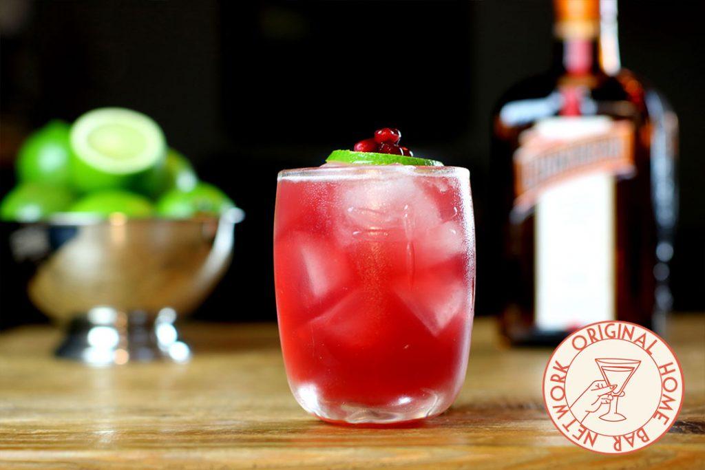 pomegranate ginger margarita home bar network