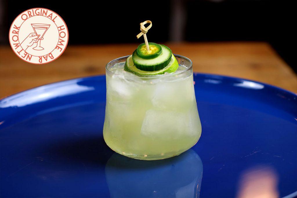Spicy Cucumber Margarita Home Bar Network