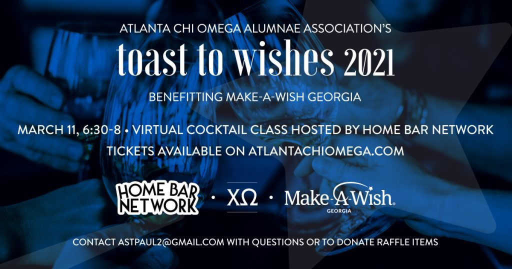 Toast To Wishes - Alpha Chi Omega - Home Bar Network
