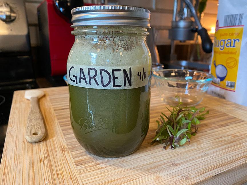 Garden Syrup Home Bar Network