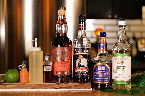Jet Pilot Bottle Lineup - Home Bar Network