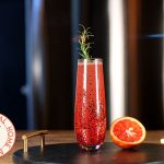 Blood Orange Rosemary Mocktail by Home Bar Network
